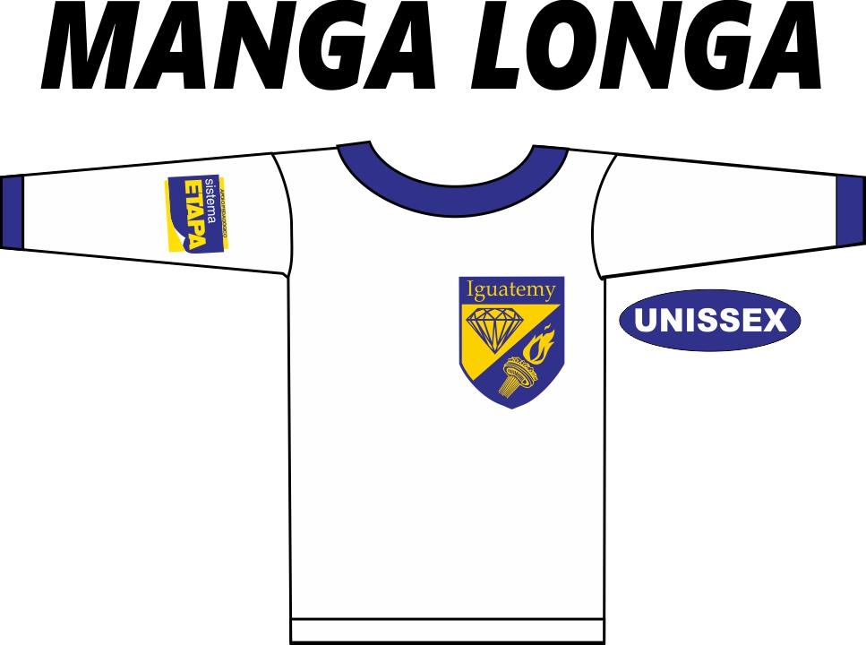 Camiseta Manga Longa Iguatemy Ensino Médio