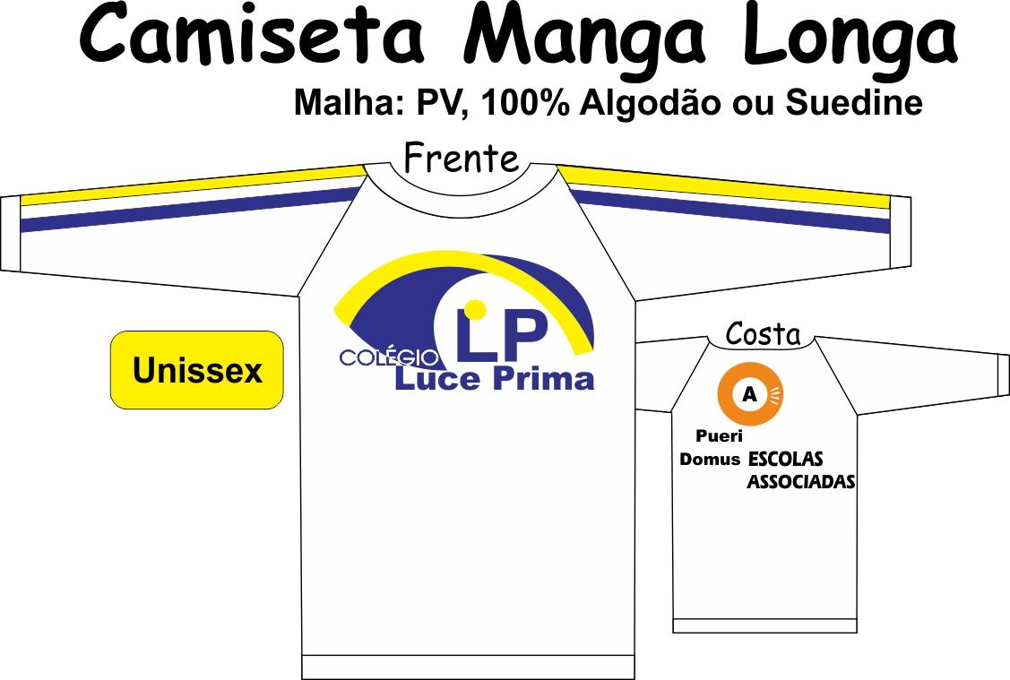 Camiseta Manga Longa Luce Prima