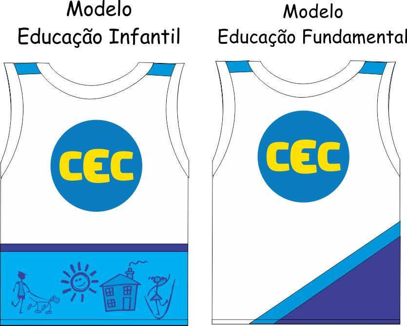 Camiseta Sem Manga CEC  Malha PV