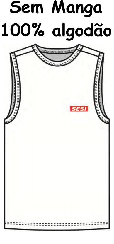Camiseta Sem Manga Sesi