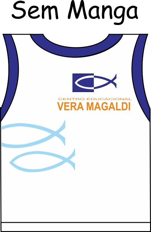 Camiseta Sem Manga Vera Magaldi