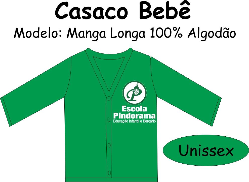 Casaco Manga Longa PV Bebê Pindorama