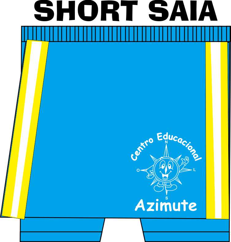Short Saia Feminino Azimute
