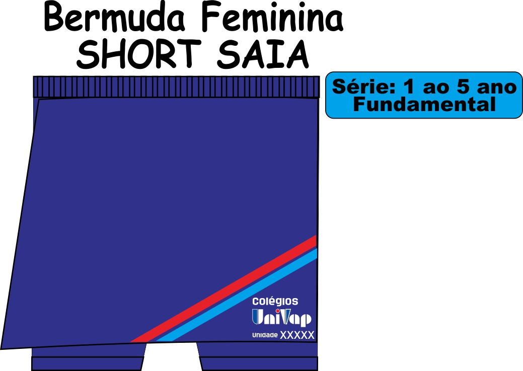 Short Saia Univap 1/5