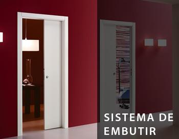 sistema de embutir portas