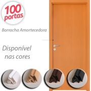 Borracha de Vedação para Porta Modelo Encaixe 5788 Rolo para 100 Portas