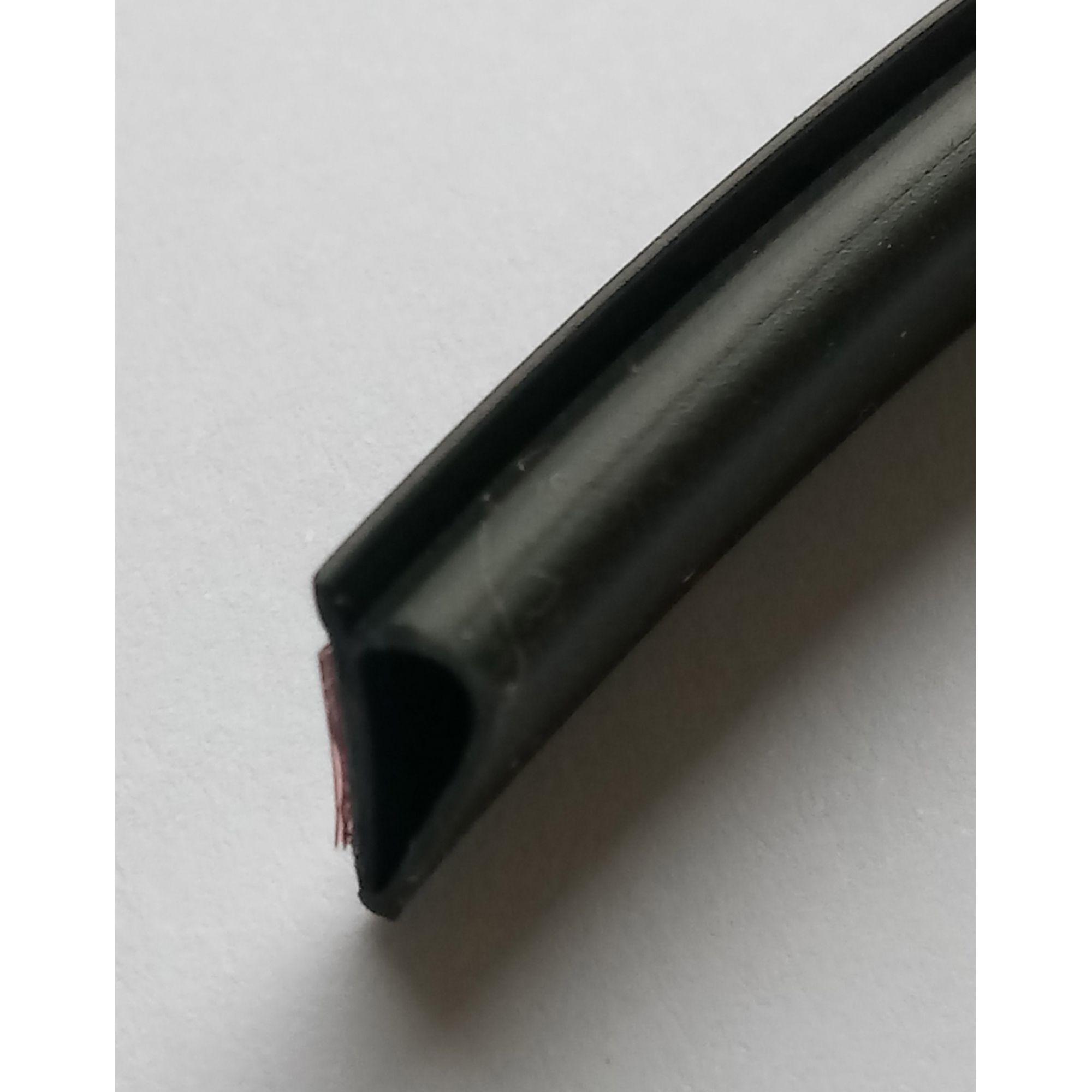 Borracha de Vedação PRETA - Modelo Adesivo 5792