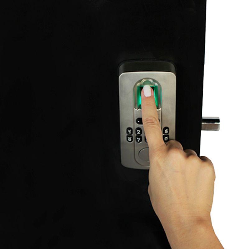 Fechadura Digital Biométrica para Portas Pivotante DL2700