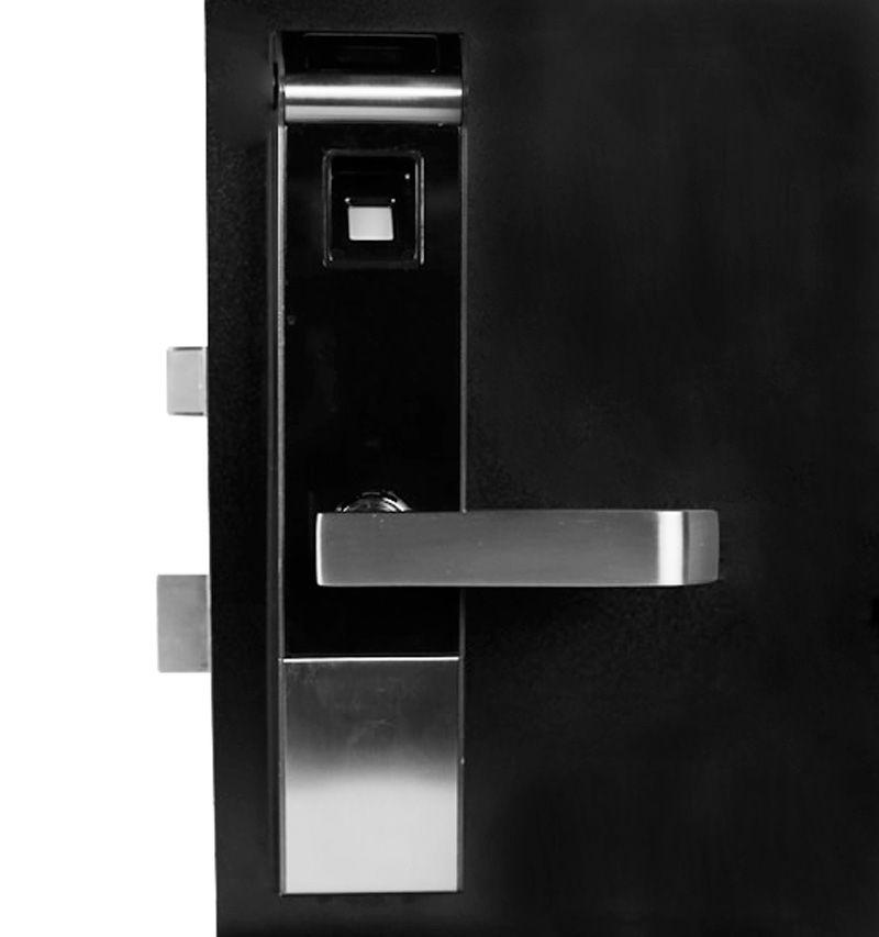 Fechadura Digital com Biometria Controle Remoto Alarme Anti Arrombamento DL5800