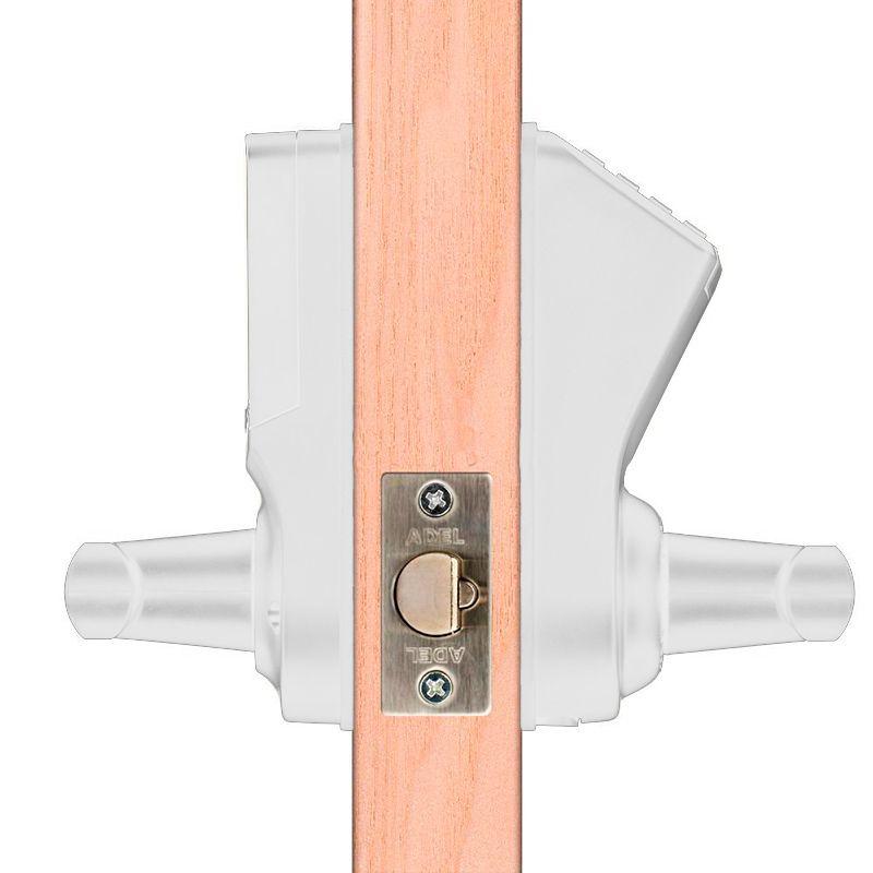 Fechadura Digital de Segurança com Biometria Dlock DL-1000 ABS Branca
