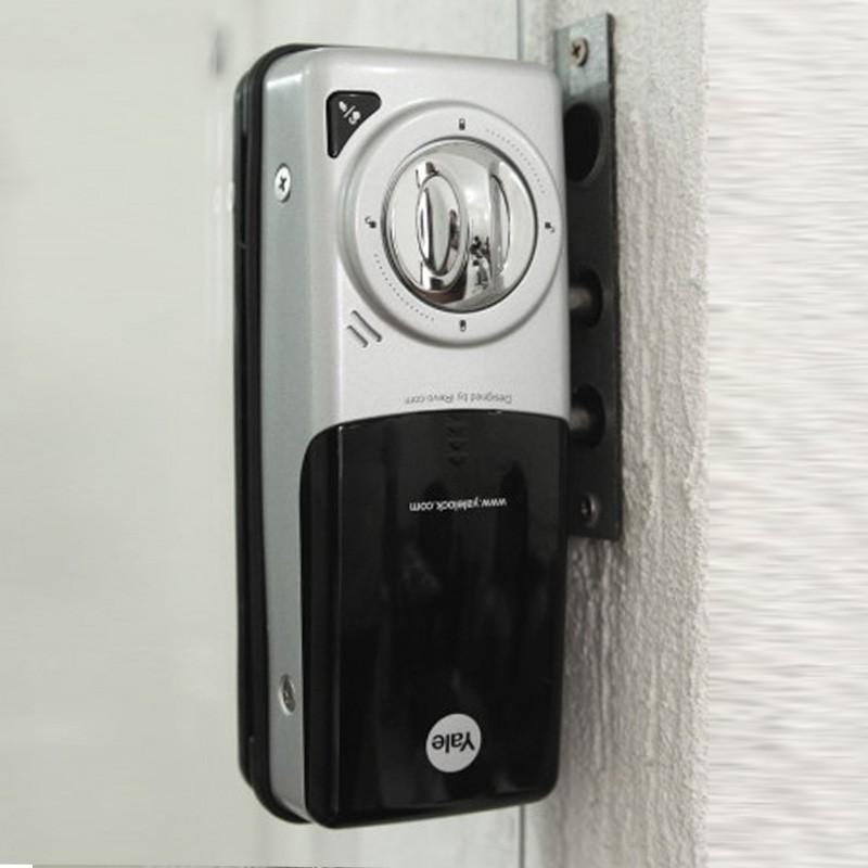 Fechadura Digital Yale para Portas de Vidro Simples com Senha e Cartão de Proximidade YDG 313