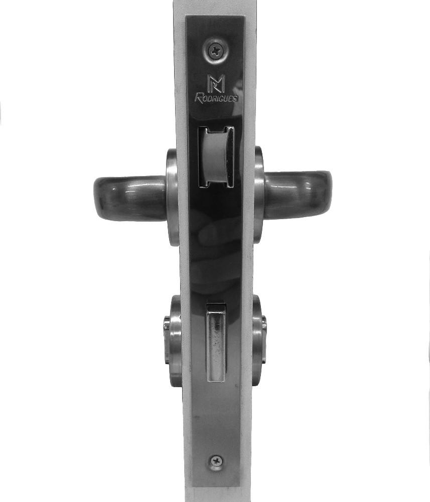 Fechadura para Portas de Madeira em Alumínio 106 Seti 55mm Rodrigues