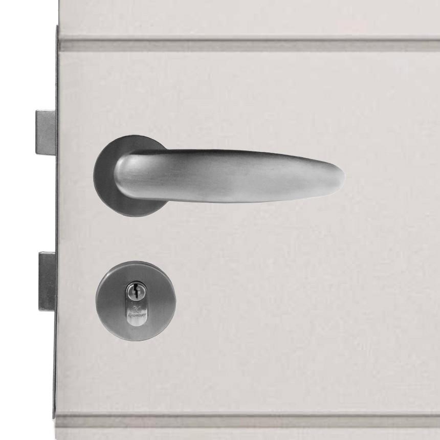 Fechadura para Portas de Madeira em Alumínio 115 Apus 55mm Rodrigues