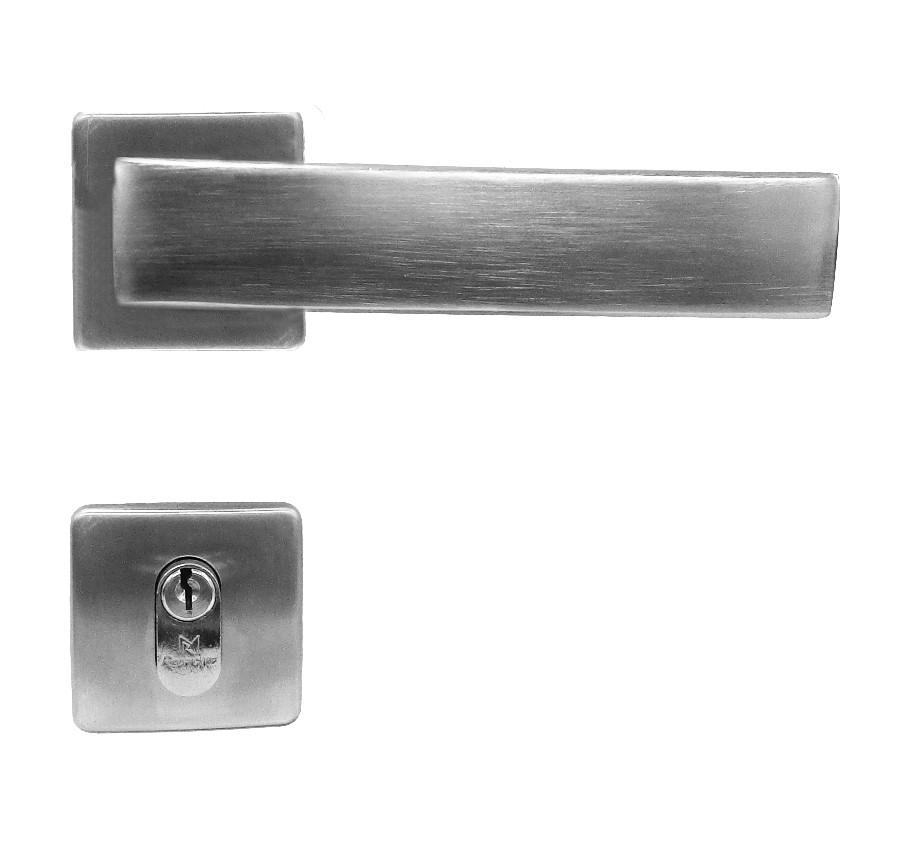 Fechadura para Portas de Madeira em Alumínio 178 Zeta 55mm Rodrigues
