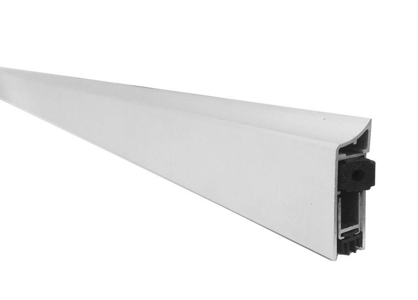 Kit de Vedação para Porta Borracha Encaixe 6062 Branca e Veda Porta Externo Automático