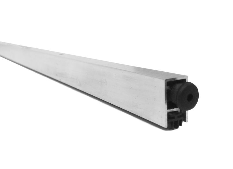 Kit de Vedação para Porta Borracha Adesiva Branca e Veda Porta de Embutir Automático