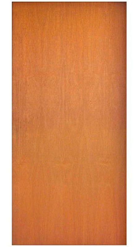 Porta de Madeira Semi-Sólida completa com Batente, Guarnição, Fechadura e Dobradiça