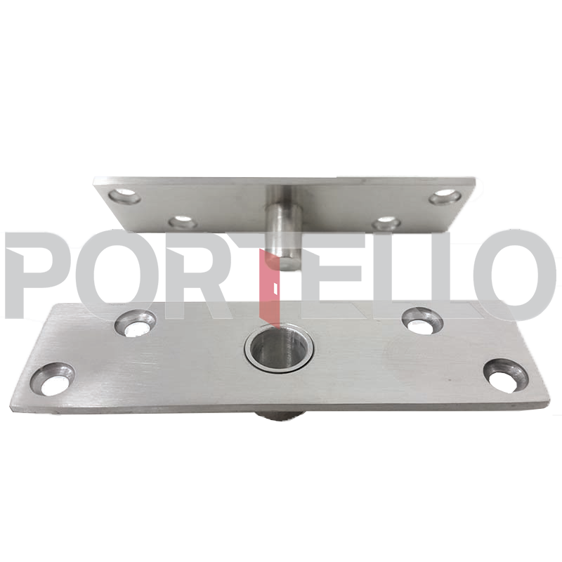 Pivô 100kg Aço Inox - Porta Pivotante