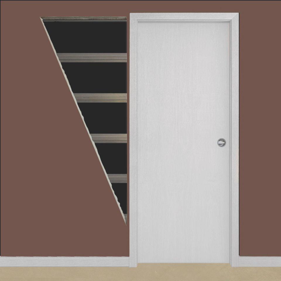 Porta de Embutir Drywall com Acabamento Primer