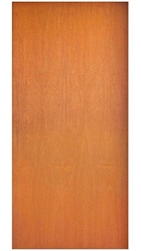 Porta de Madeira Lisa Semi-Sólida Curupixá