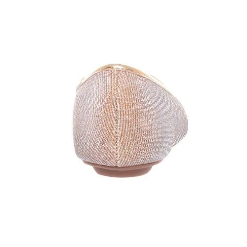 Sapatilha Vizzano Tecido Metal Canelado Linda Leve 1155120
