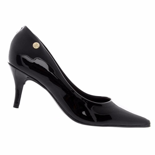 Sapato Scarpin Vizzano Verniz Feminino Macio Lindo 1185102