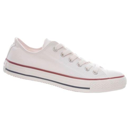 Tênis All Star Converse Tecido Original Branco Preto Lindo CT114