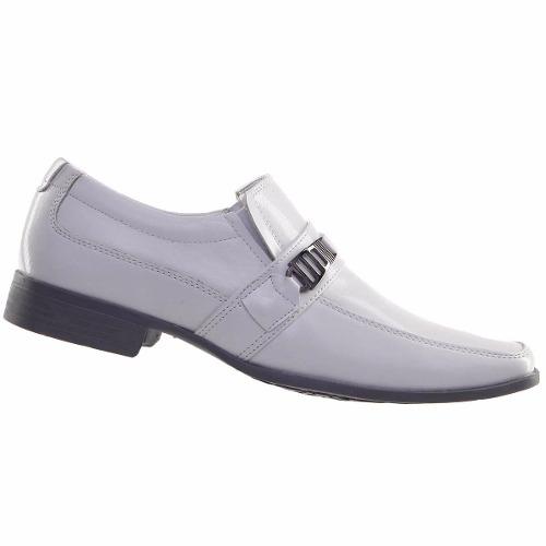 Sapato Social Masculino Branco Médico Enfermeiro Veterinário 73051