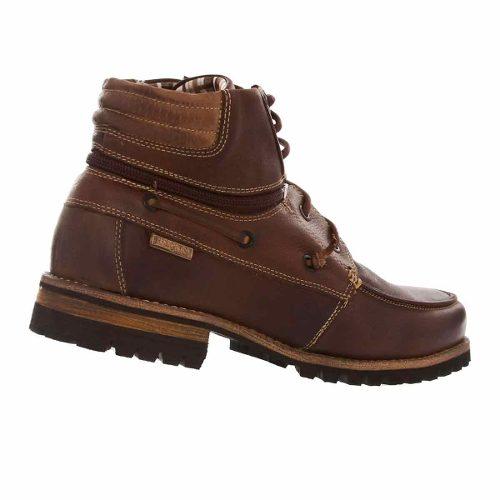 Bota Coturno Ferracini Pionner Couro Sapato Resistente 9659