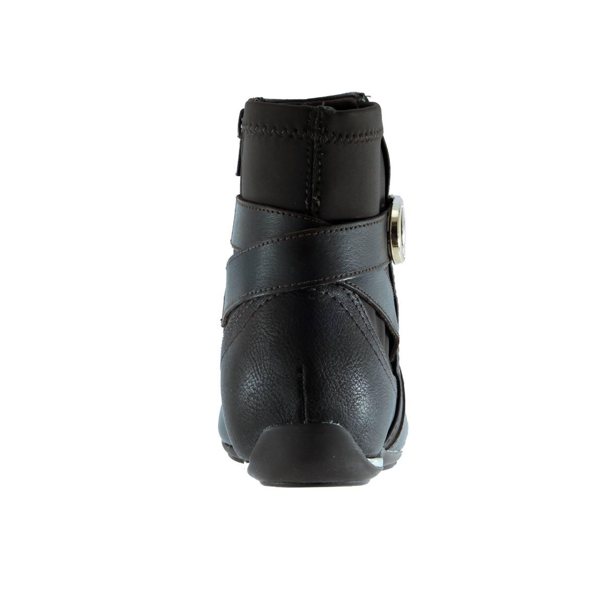 Bota Cano Curto Comfortflex Solado Embutido Fivela 1791306