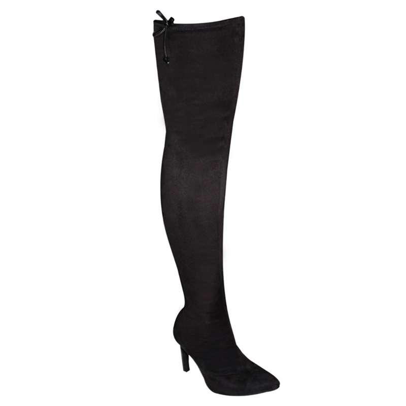 Bota Vizzano Over The Knee Camurça Stretch Turim 3049106