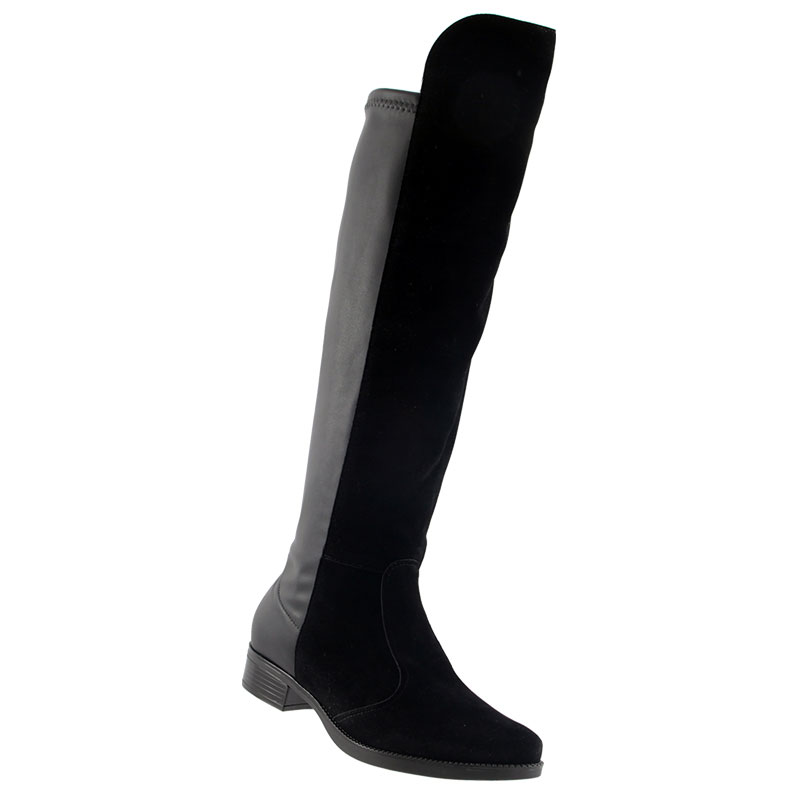 Bota Vizzano Strech Camurça Over The Knee Montaria 3050105