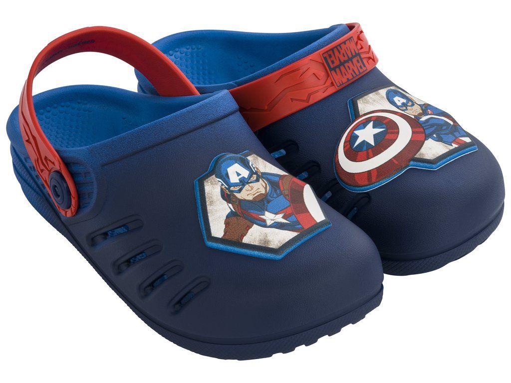 Chinelo Infantil Grendene Avengers Marvel Sport Babuch 21942