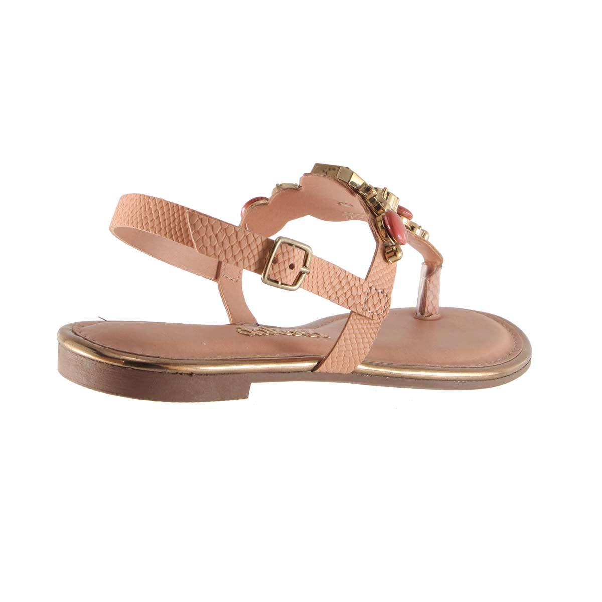Sandália Dakota Rasteira Chatons Confortável Z1362