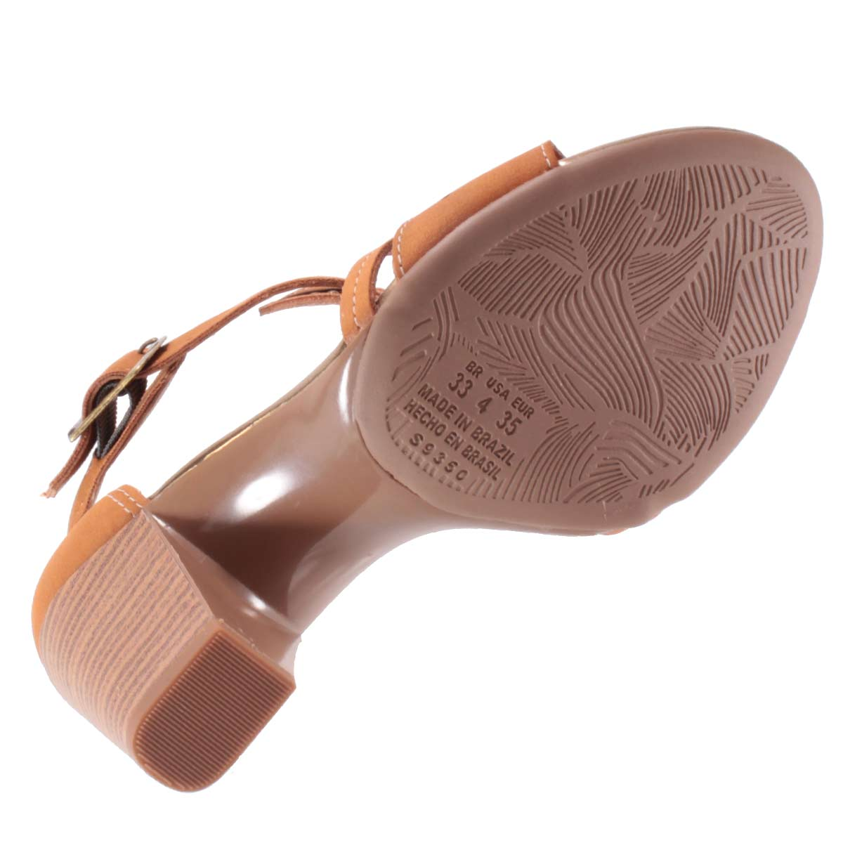 Sandália Dakota Salto Grosso Lasercut Rebites Z2224