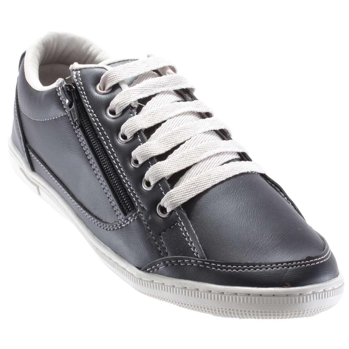 fdb31a1730 Sapatênis Doc Shoes Sintético Casual Ziper Confortável 7124C