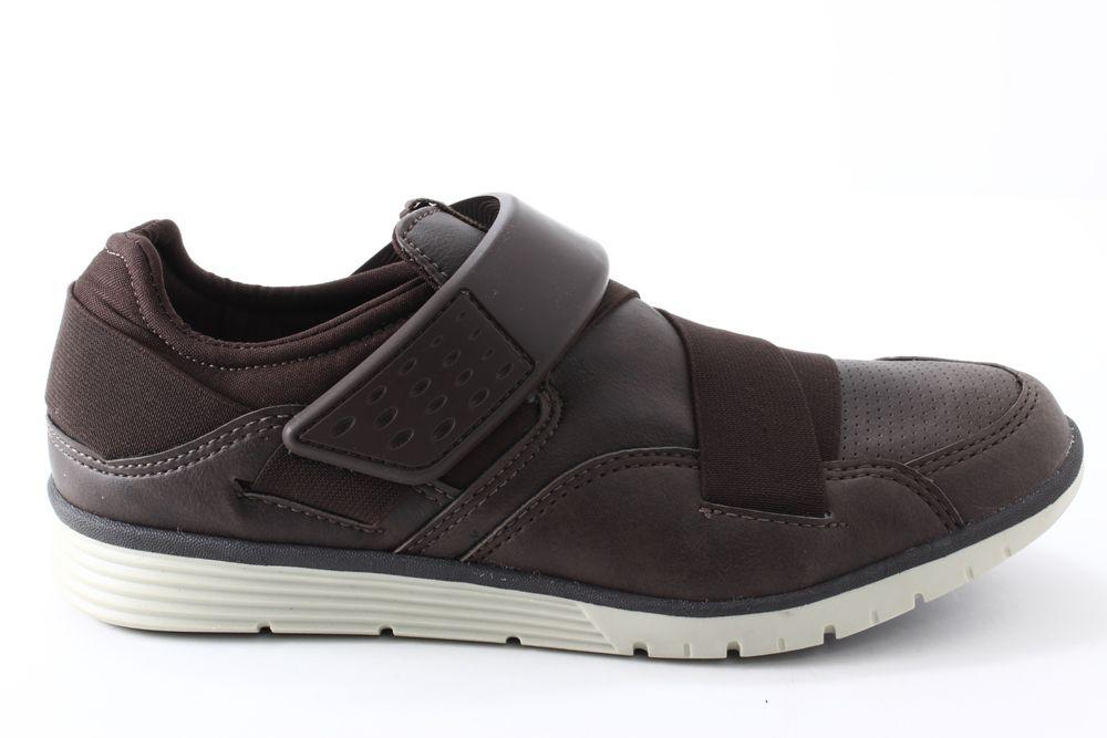 Sapatênis Strikwear Masculino Elástico Velcro 334A