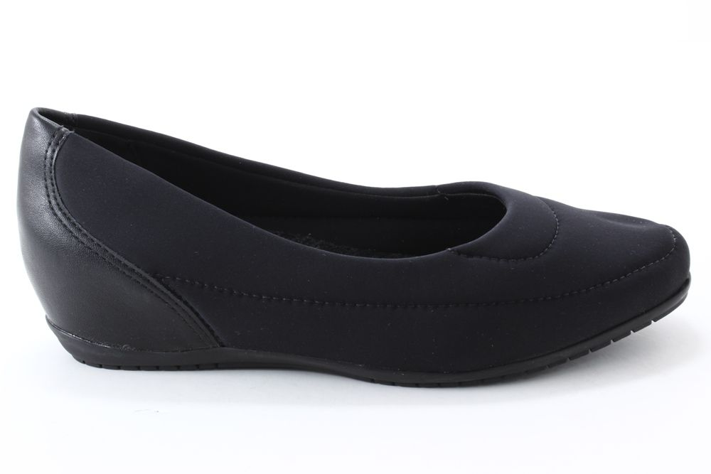 Sapatilha Comfortflex Flexível Salto Embutido Feminina 1994301