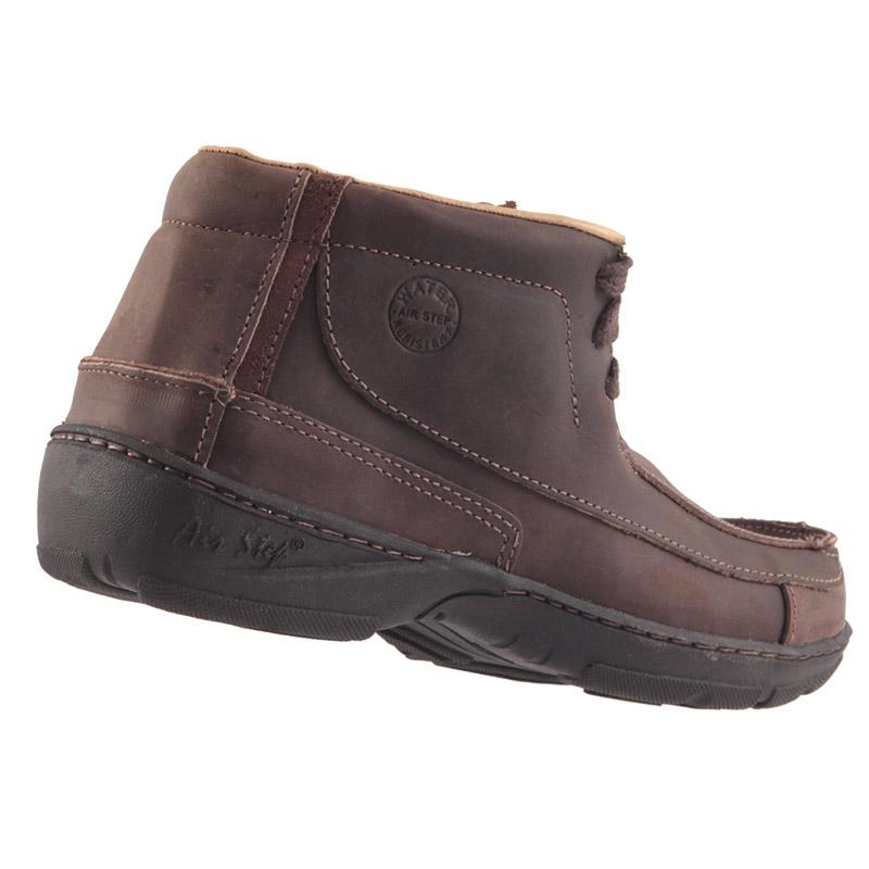 Sapato Bota AirStep Crazy em Couro Legítimo Macio 2007