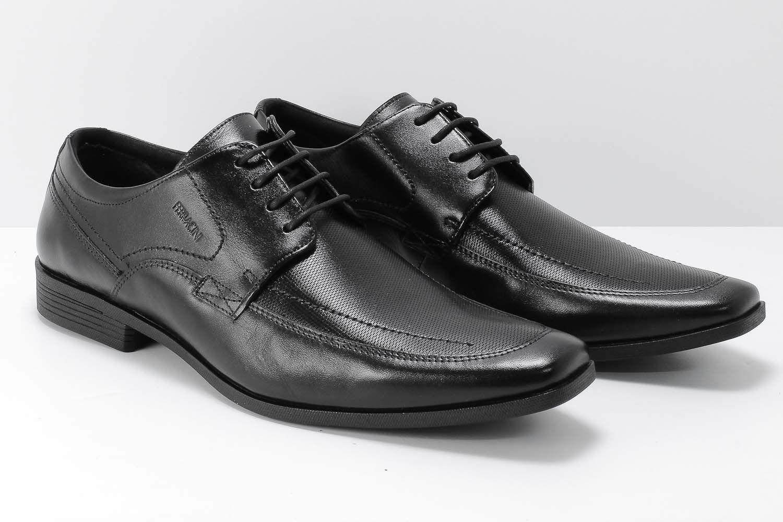 Sapato Ferracini Liverpool Social Masculino Couro Cadarço 4060-281