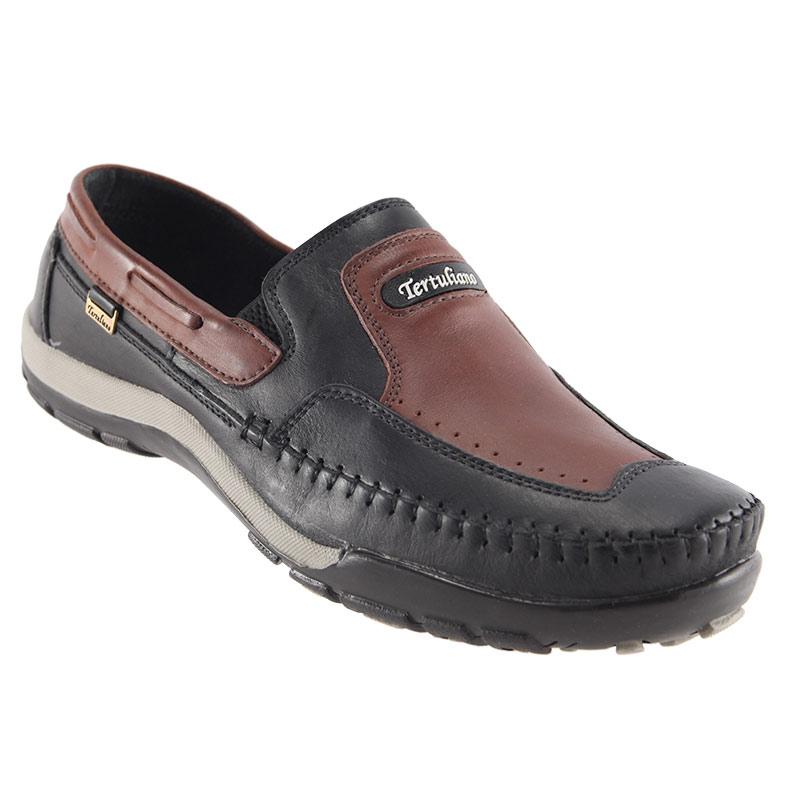 Sapato Mocassim Tertuliano em Couro Legítimo Masculino 059