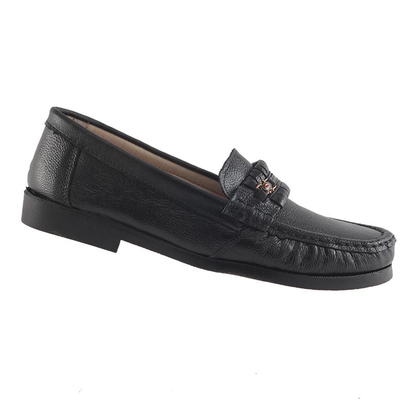 Sapato Mocassim Trilhos Em Couro Legítimo Costurado Masculino 9900