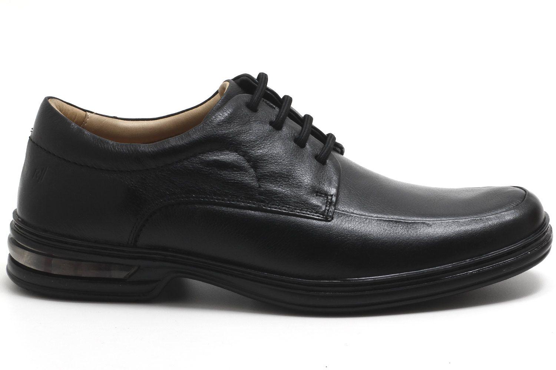 Sapato Rafarillo Conforto Duo Air Cadarço Couro Masculino 39007
