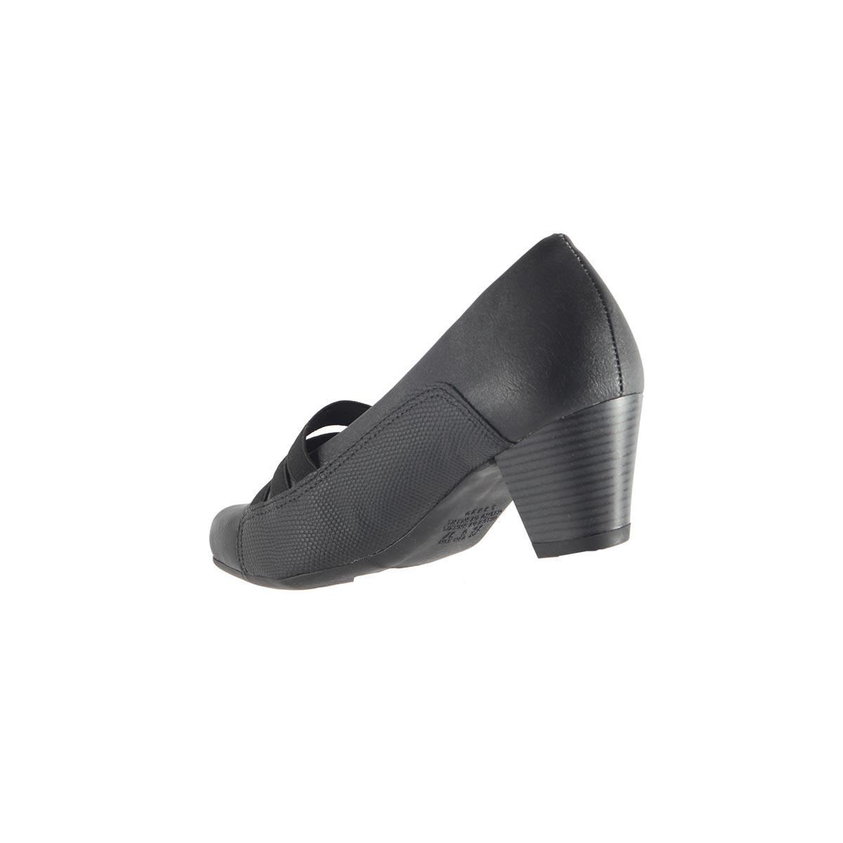 Sapato Scarpin Campesí Salto Baixo Elástico L5376
