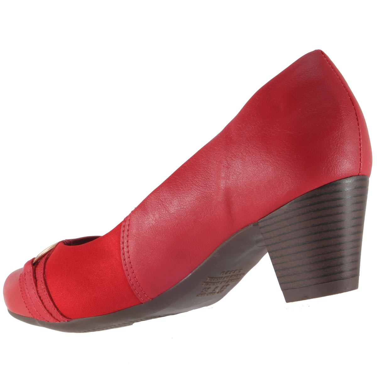 Sapato Scarpin Campesí Salto Baixo Fivela Joanete L5371
