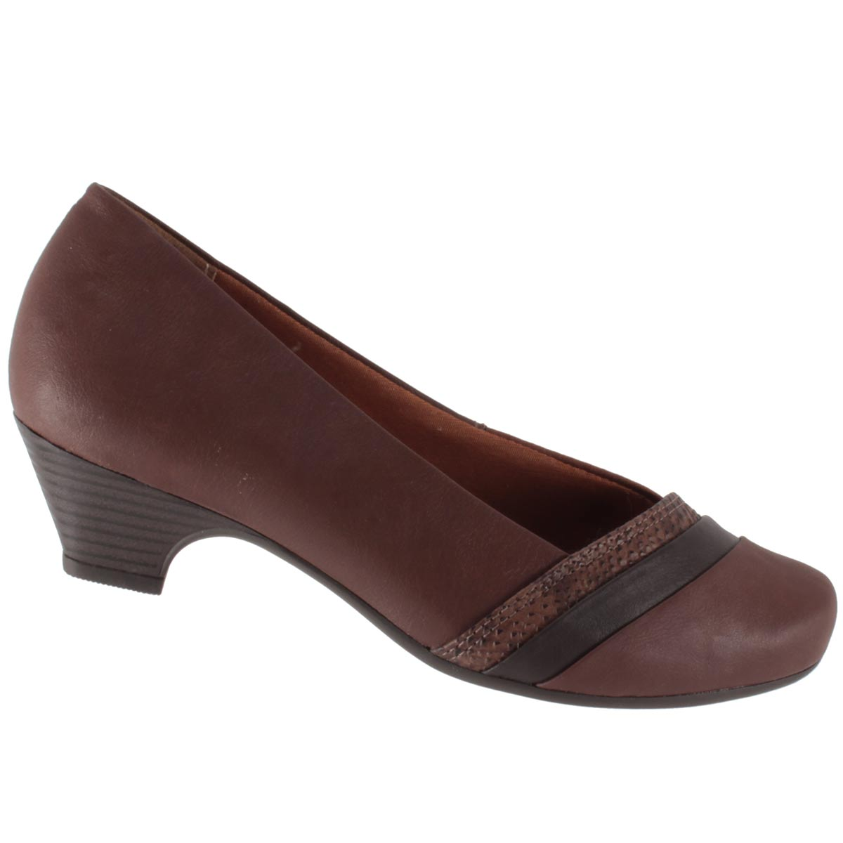 Sapato Scarpin Campesí Salto Baixo Joanete L5452