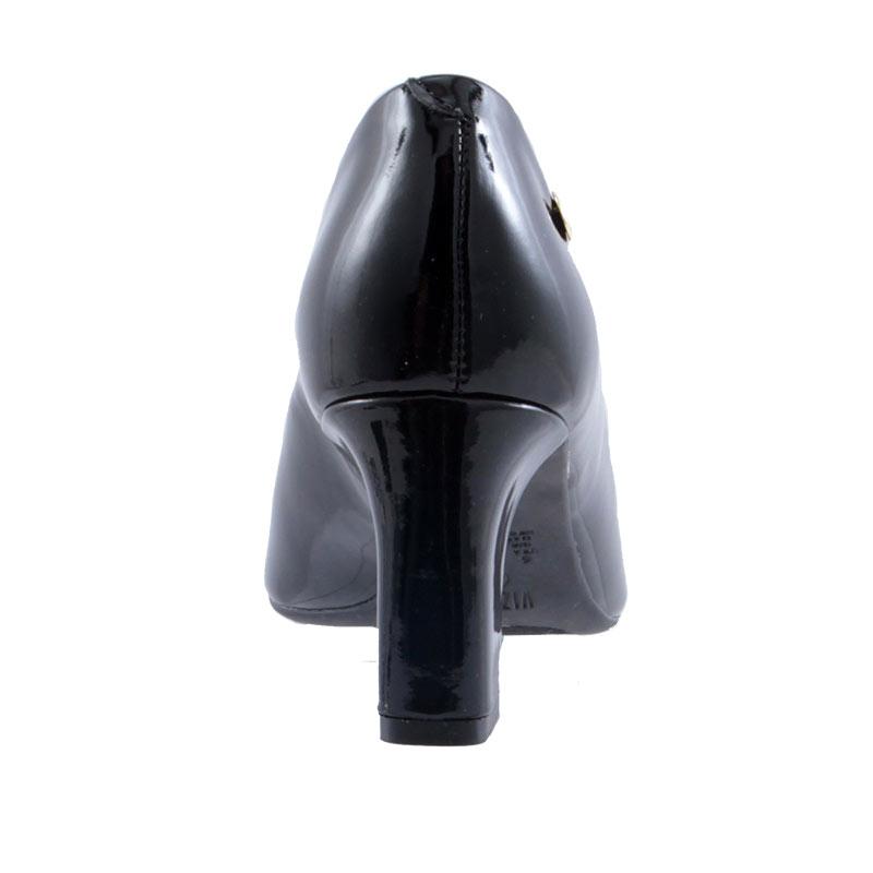 Sapato Scarpin Feminino Peep Toe Salto Vizzano Verniz 1818400