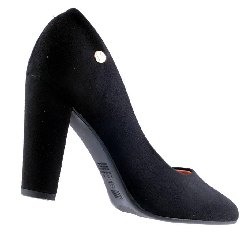 Sapato Scarpin Vizzano Camurça Flex Liso 1216100