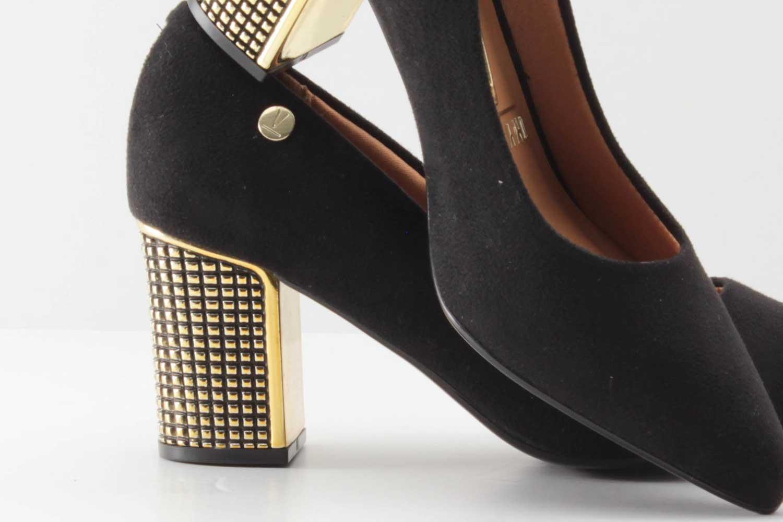 Sapato Scarpin Vizzano Feminino Camurça 1290200