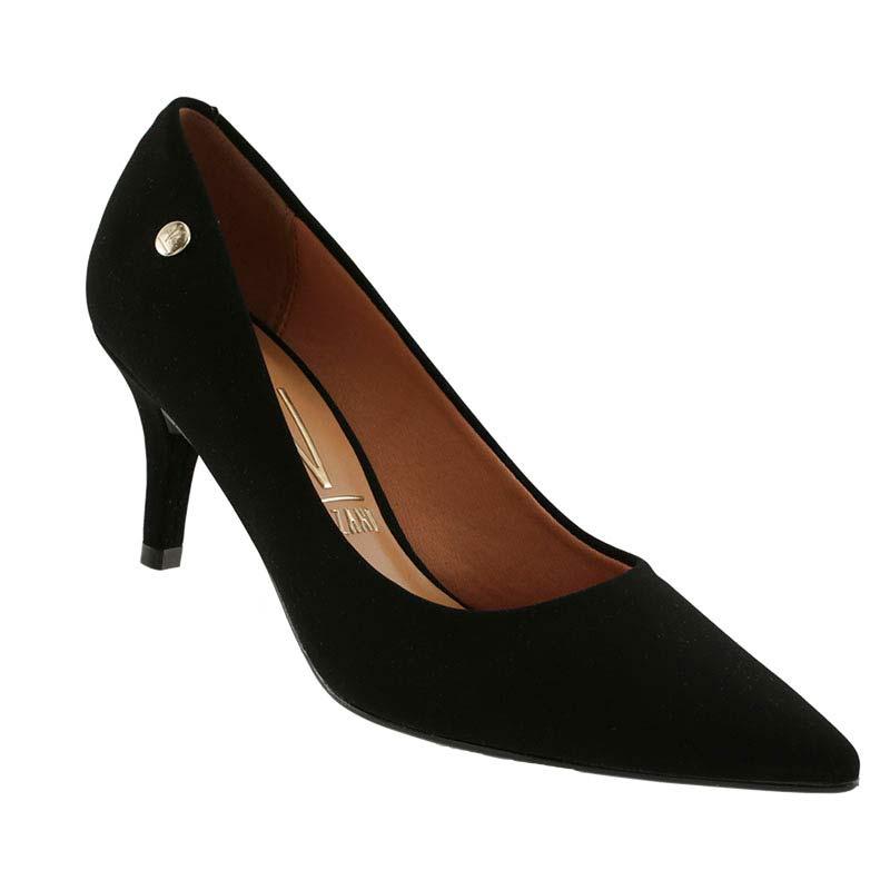 Sapato Scarpin Vizzano Nobuck Glamour Bico Fino 1185102